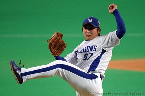 中日からFA宣言した高橋聡文投手(32)の年度別成績