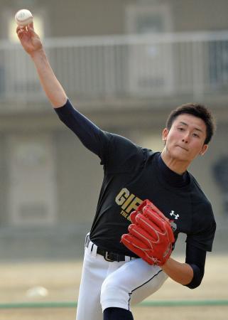中日ドラ1高橋純平を公表 谷繁監督「クジ楽しみ」