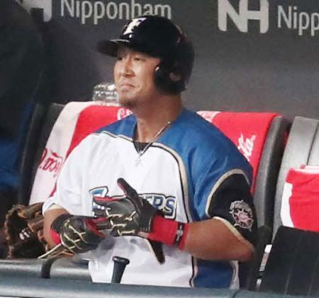 日本ハム中田翔、代打送られ「別に何とも思ってない」