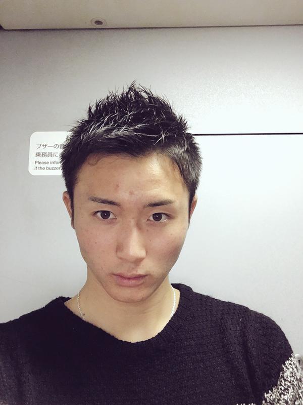 高橋純平、散髪してさっぱりする。