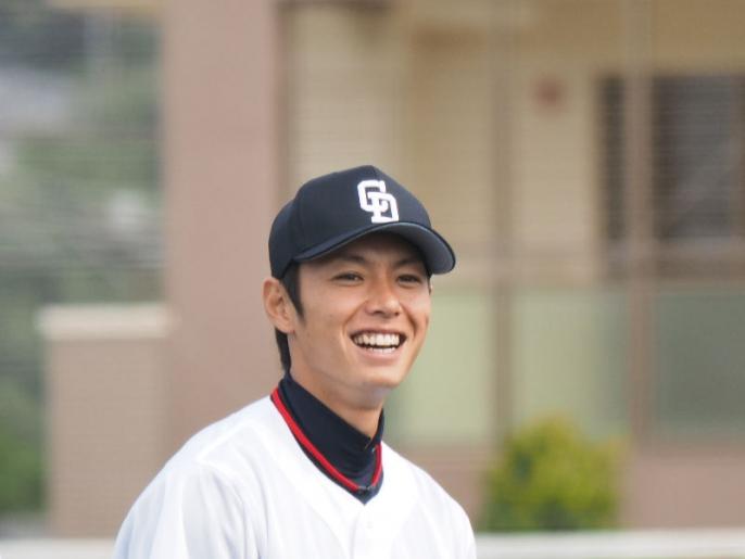爽やかすぎる笑顔がイケメンな浅尾拓也