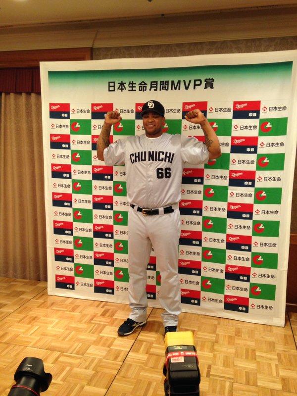 3・4月度の月間MVP発表 中日ビシエド、セ・リーグ初の新外国人野手開幕月受賞!