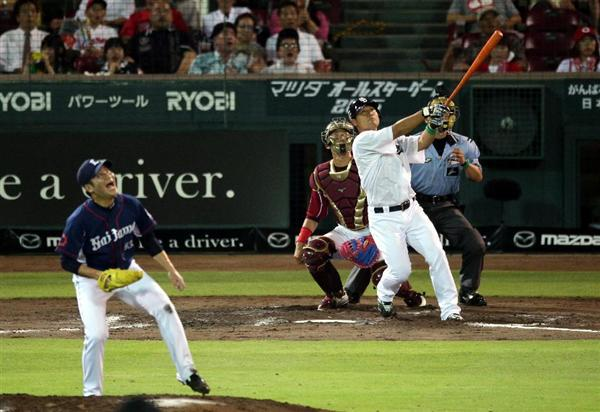 【7/18 AS第2戦】C8-3P ルナ2安打!平田HR!セ・リーグ連勝!!(大野2失点)