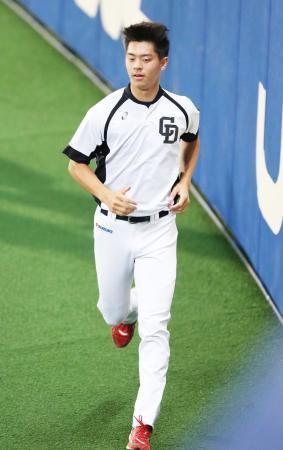 中日鈴木翔太、プロ初先発は4日巨人戦「大丈夫」