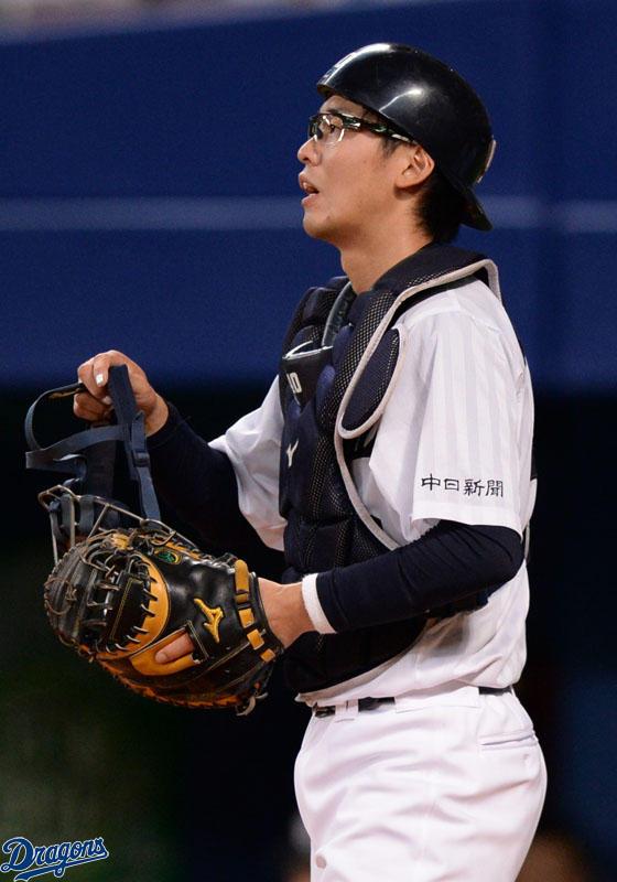 【朗報】中日桂、盗塁阻止率リーグトップ