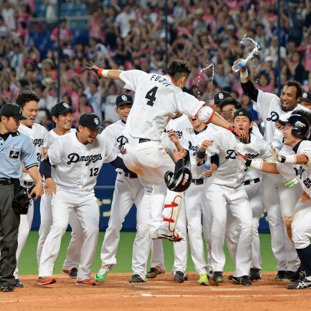 【7/12結果】D2-0C 藤井、延長12回裏2アウトからサヨナラ2ラン! 2連勝!!