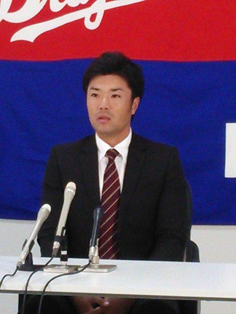 中日・嶋村一輝打撃コーチの就任を発表