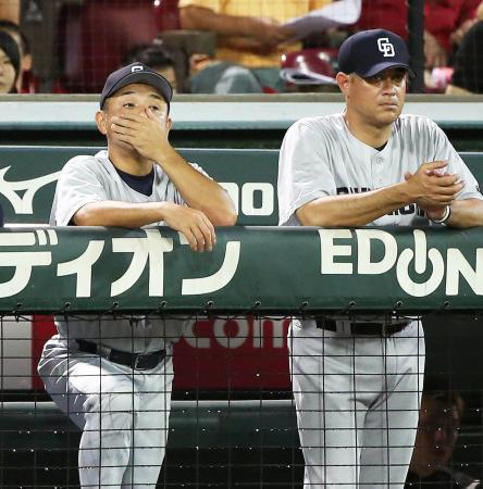 【7/21結果】D5-8C 和田の先制3ランも、山井・田島4失点づつ 逆転負け…