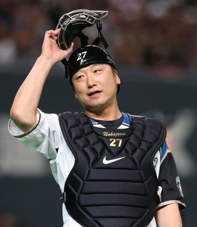日本ハム中嶋が現役引退 実働29年プロ野球タイ