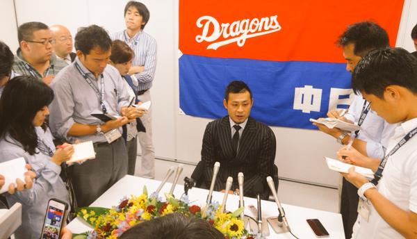 【速報】中日・朝倉さんただ今引退会見中