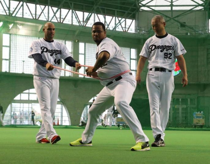 【中日】新外国人・ハイメ、投球再開メド立たず バルデスも左肩痛