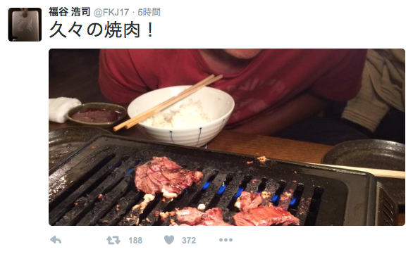 【朗報】中日福谷、半年ぶりにTwitterを更新