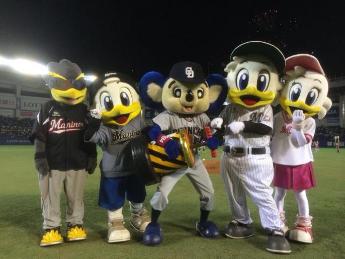 【オープン戦開幕】中日ロッテファン集合