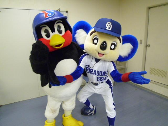 プロ野球チームのマスコットで一番有名なのってドアラ?つば九郎?