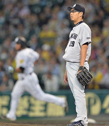 中日・山井、背信KO…0勝6敗で2軍降格決定
