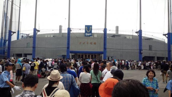 【朗報】ナゴヤ球場、超満員