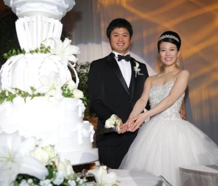 中日→福岡の中田賢ちゃんが結婚したよ!